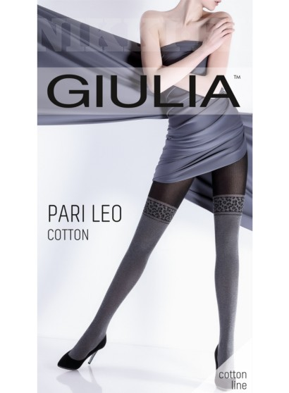 Колготки Giulia Pari Leo Cotton