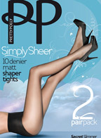 Simply Sheer Matt Shaper Tights (2 пары) 10