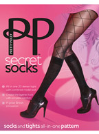 Колготки Pretty Polly Secret Socks AQS9
