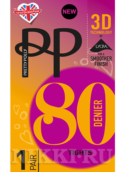 Колготки Pretty Polly Opaque 3D 80 (ATG6)