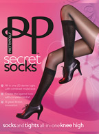 Колготки Pretty Polly Secret Socks AQS8