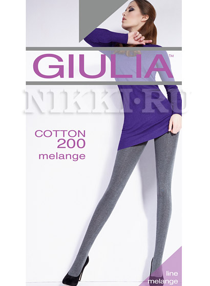 Колготки Giulia Cotton Melange 200