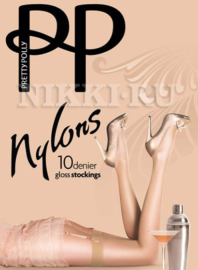Чулки Pretty Polly Nylons Plain Top 10