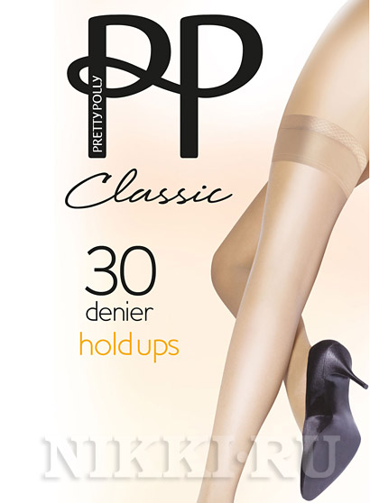 Чулки Pretty Polly Classic Hold Ups 30