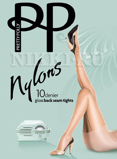 Колготки Pretty Polly Nylons Back Seam Tights 10