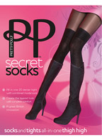Колготки Pretty Polly Secret Socks AQT1