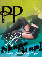Колготки Pretty Polly Suspender Tummy Shaper Tights (ARF3)