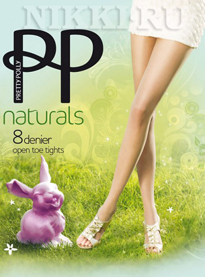 Колготки Pretty Polly Naturals Open Toe 8