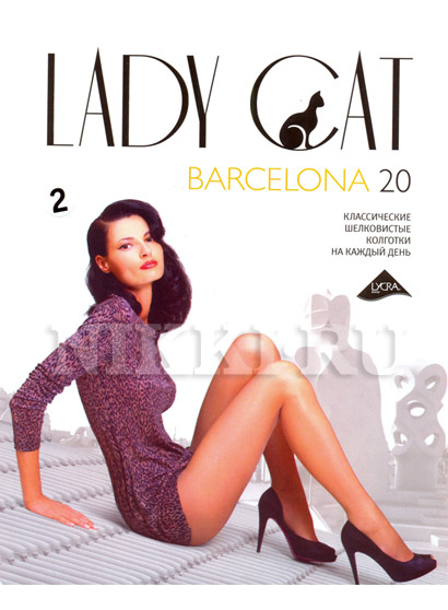 Колготки Lady Cat Barcelona 20