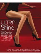 Ultra Shine Control Top Tights 10