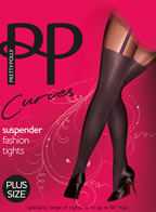 Колготки Pretty Polly Curves Suspender (ARE7)