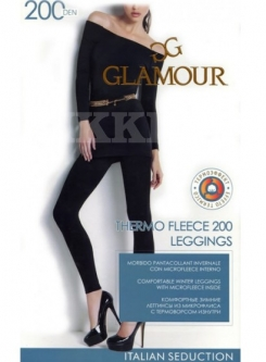 Леггинсы Glamour Thermo Fleece Leggings 200
