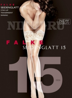 Чулки Falke Seidenglatt Stay-up 15 (Art. 41590)