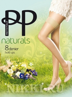 Чулки Pretty Polly Naturals Hold Ups 8