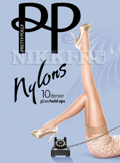 Чулки Pretty Polly Gloss Hold-Ups 10