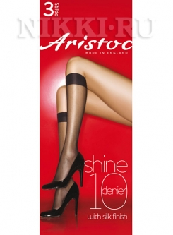 Гольфы Aristoc Shine 10 (3 пары) (GAH6)