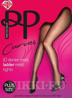 Колготки Pretty Polly Curves Ladder Resist 10 (ASA5)